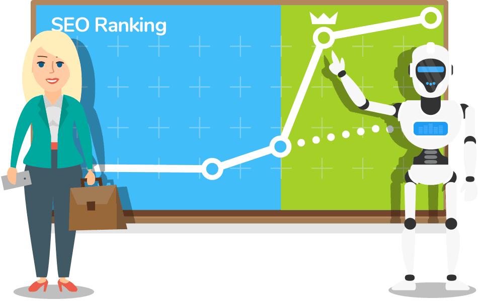 SEO Ranking with uNaice Textrobot